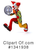 Funky Clown Clipart #1341938 by Julos
