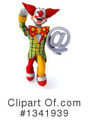 Funky Clown Clipart #1341939 by Julos