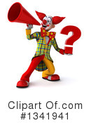Funky Clown Clipart #1341941 by Julos