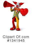 Funky Clown Clipart #1341945 by Julos