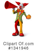 Funky Clown Clipart #1341946 by Julos