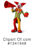 Funky Clown Clipart #1341948 by Julos