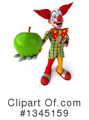 Funky Clown Clipart #1345159 by Julos