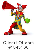 Funky Clown Clipart #1345160 by Julos