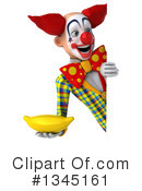 Funky Clown Clipart #1345161 by Julos