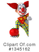Funky Clown Clipart #1345162 by Julos