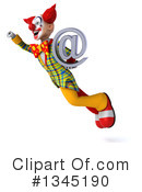 Funky Clown Clipart #1345190 by Julos
