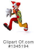 Funky Clown Clipart #1345194 by Julos