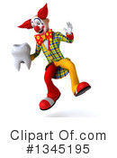 Funky Clown Clipart #1345195 by Julos