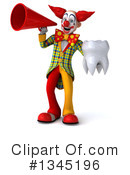Funky Clown Clipart #1345196 by Julos