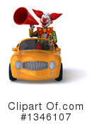 Funky Clown Clipart #1346107 by Julos