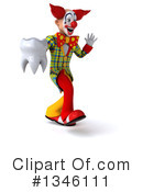 Funky Clown Clipart #1346111 by Julos