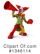 Funky Clown Clipart #1346114 by Julos