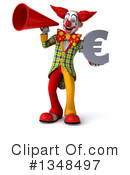 Funky Clown Clipart #1348497 by Julos