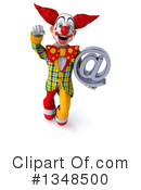 Funky Clown Clipart #1348500 by Julos