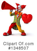 Funky Clown Clipart #1348507 by Julos