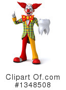 Funky Clown Clipart #1348508 by Julos