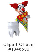 Funky Clown Clipart #1348509 by Julos