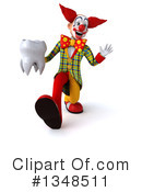 Funky Clown Clipart #1348511 by Julos