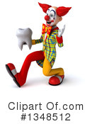 Funky Clown Clipart #1348512 by Julos