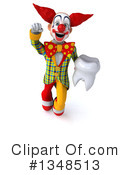 Funky Clown Clipart #1348513 by Julos