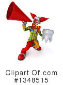 Funky Clown Clipart #1348515 by Julos