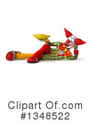 Funky Clown Clipart #1348522 by Julos