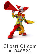 Funky Clown Clipart #1348523 by Julos