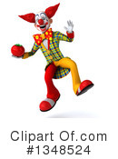 Funky Clown Clipart #1348524 by Julos