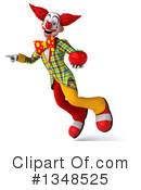 Funky Clown Clipart #1348525 by Julos