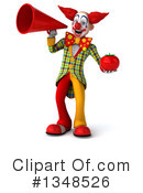 Funky Clown Clipart #1348526 by Julos