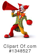 Funky Clown Clipart #1348527 by Julos