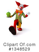 Funky Clown Clipart #1348529 by Julos