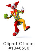 Funky Clown Clipart #1348530 by Julos