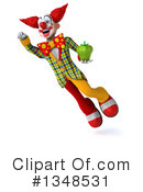 Funky Clown Clipart #1348531 by Julos
