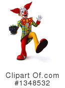 Funky Clown Clipart #1348532 by Julos