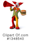 Funky Clown Clipart #1348540 by Julos