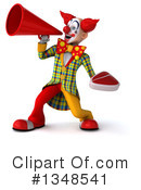 Funky Clown Clipart #1348541 by Julos