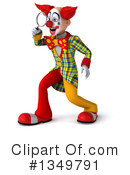 Funky Clown Clipart #1349791 by Julos