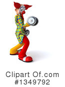 Funky Clown Clipart #1349792 by Julos