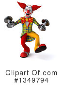 Funky Clown Clipart #1349794 by Julos