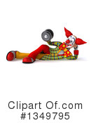 Funky Clown Clipart #1349795 by Julos