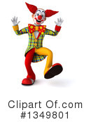 Funky Clown Clipart #1349801 by Julos