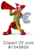 Funky Clown Clipart #1349809 by Julos