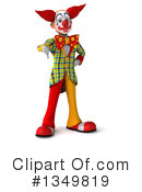 Funky Clown Clipart #1349819 by Julos