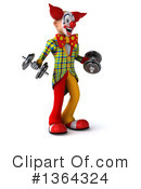 Funky Clown Clipart #1364324 by Julos
