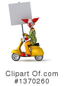 Funky Clown Clipart #1370260 by Julos
