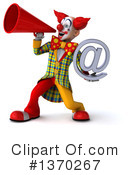 Funky Clown Clipart #1370267 by Julos