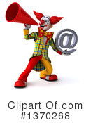 Funky Clown Clipart #1370268 by Julos
