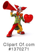 Funky Clown Clipart #1370271 by Julos